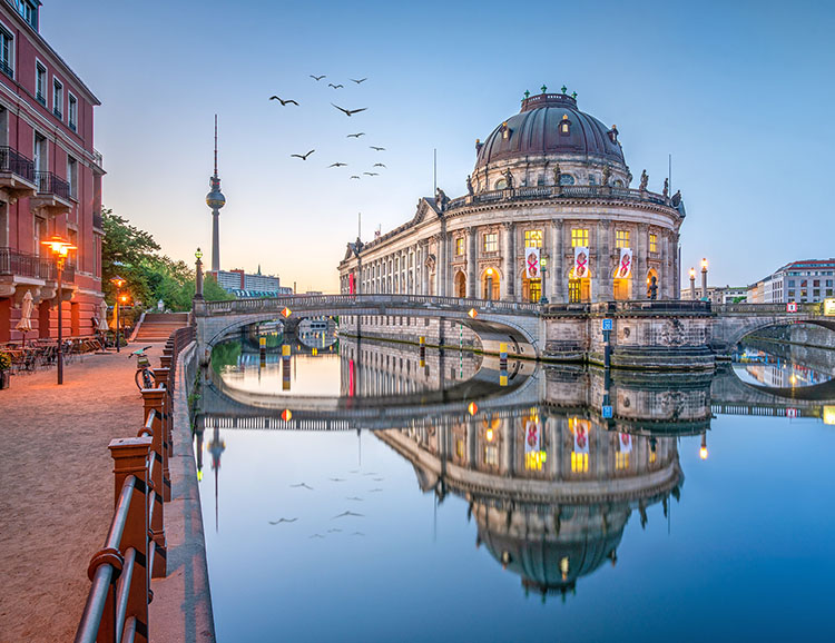 Museumsinsel mit Bode Museum