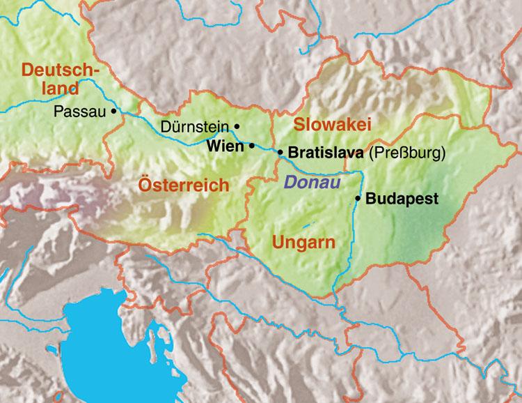 Wachau Karte Donau.Stuttgarter Zeitung Leserreisen Frühling Entlang Der Donau Mit