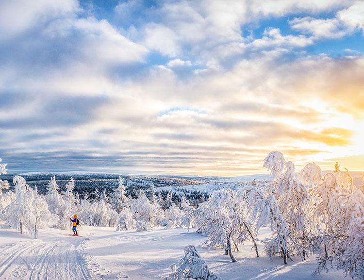 Einzigartige Winterstimmung