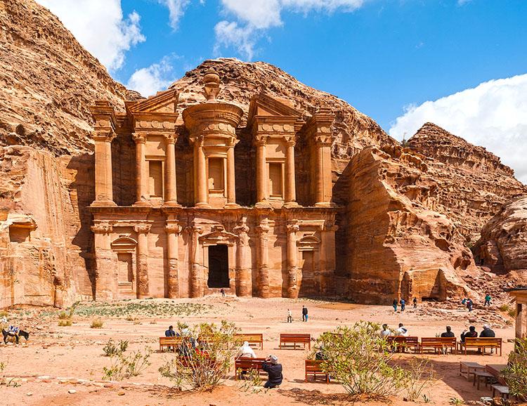Kloster Ed-Deir in Petra