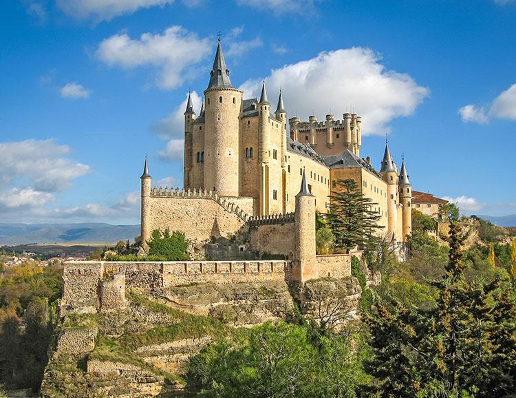 Der Alcazar in Segovia