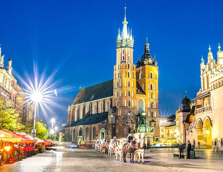 Die Marienkirche in Krakau