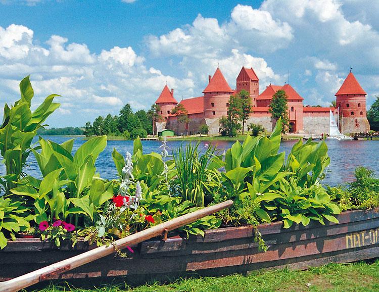 Die Wasserburg in Trakai