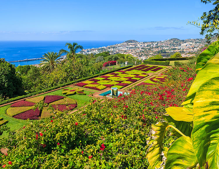 Der Botanische Garten bei Funchal