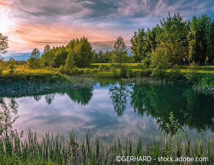 Die herrliche Landschaft der Masuren