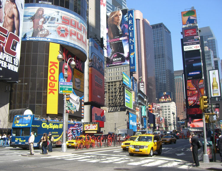 Times Square: das Herz New Yorks