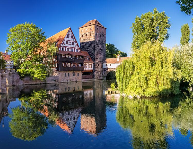Idylle in Nürnberg