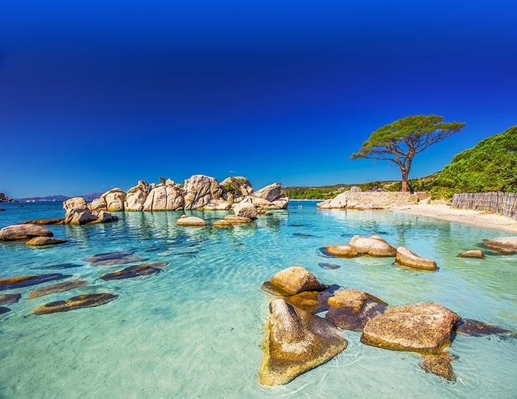 Die herrliche Küste Sardiniens