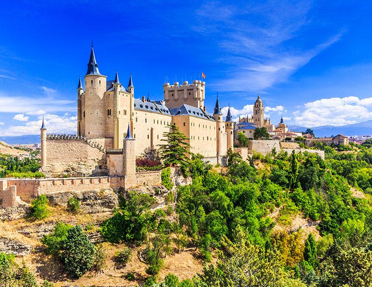 königspalastes in aranjuez spanien