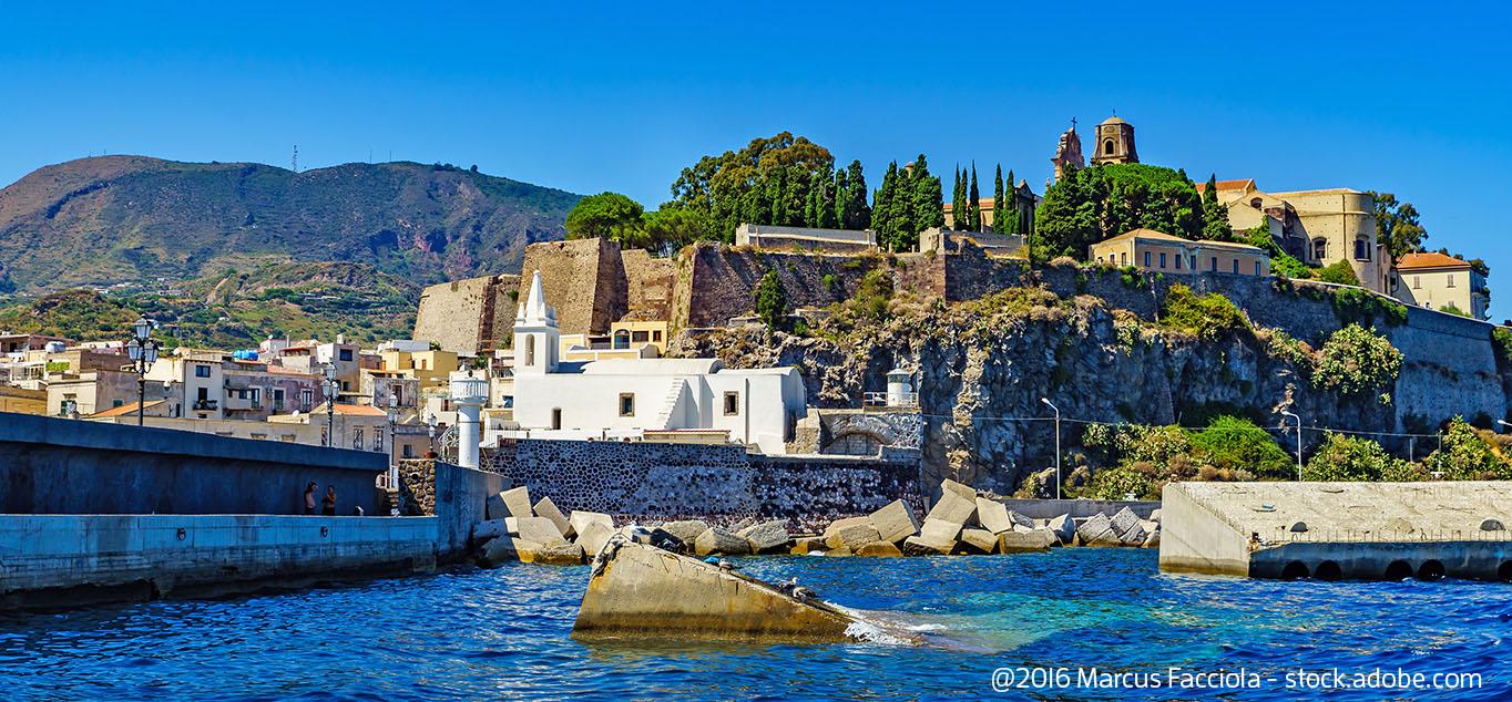 Italien - Lipari, Äolische Inseln
