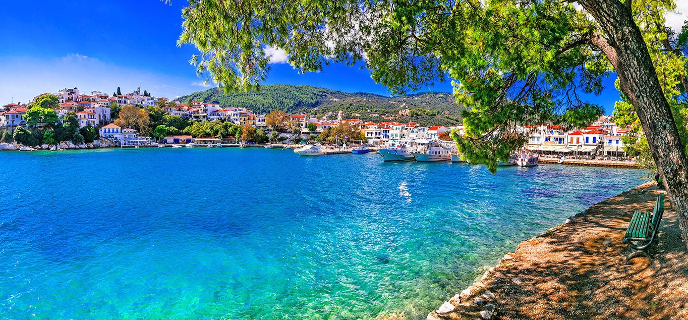 Griechenland - Pieria und Skiathos: Grünes Paradies am Ägäischen Meer