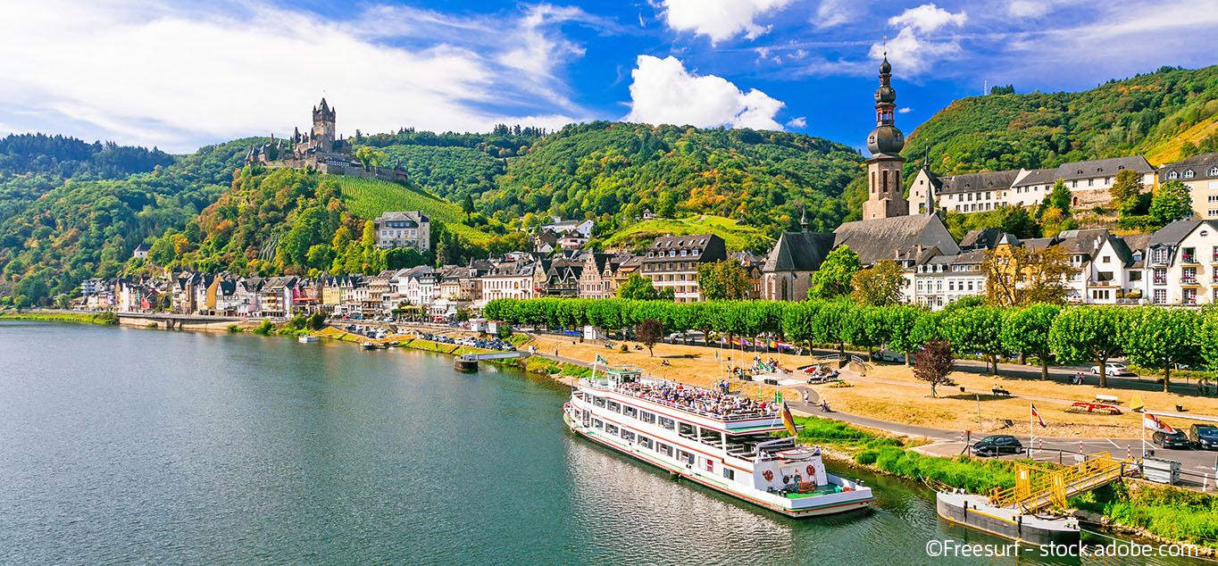Unterwegs auf Mosel & Rhein: von Trier nach Köln