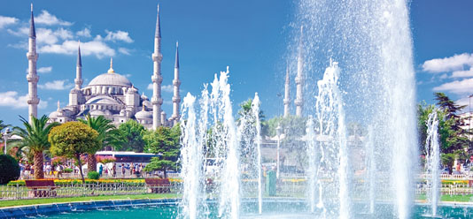 TDie Blaue Moschee in Istanbul
