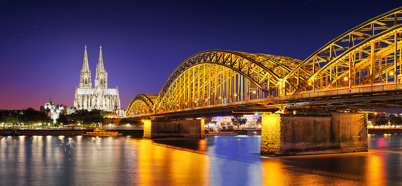 Abendlicher Kölner Dom