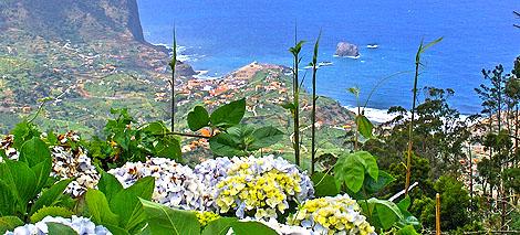 TDie Küste Madeiras