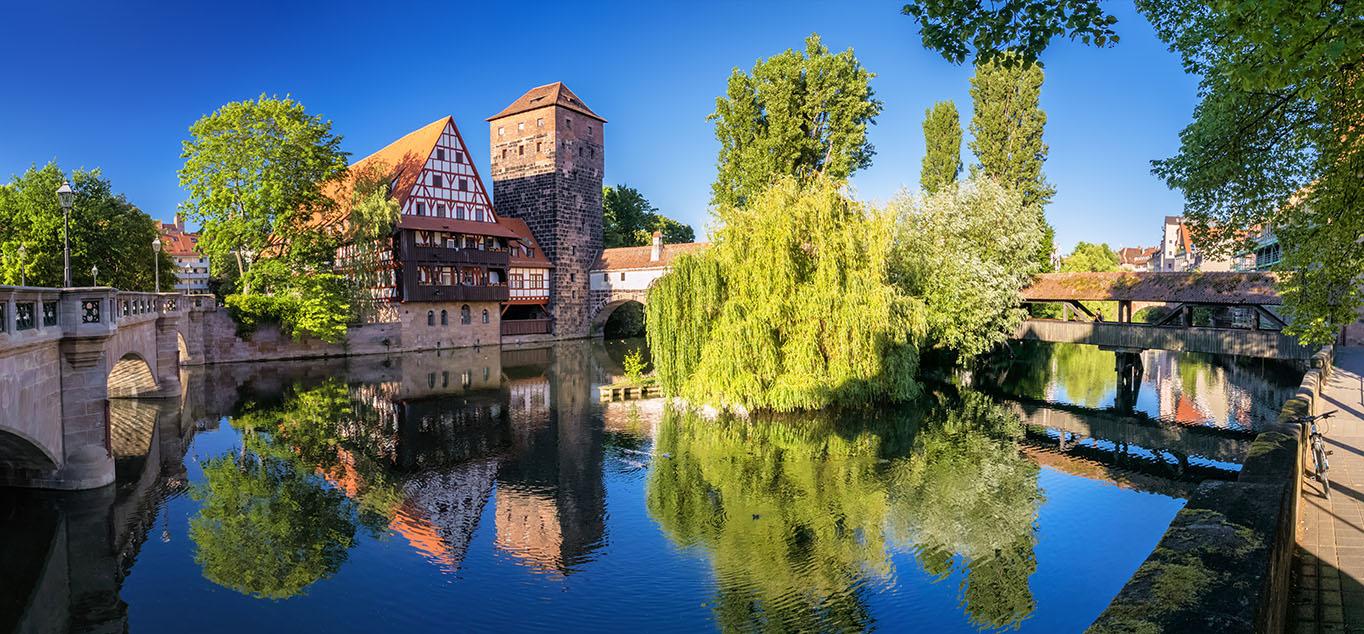 Rhein-Main-Donau: im Frühling quer durch Deutschland