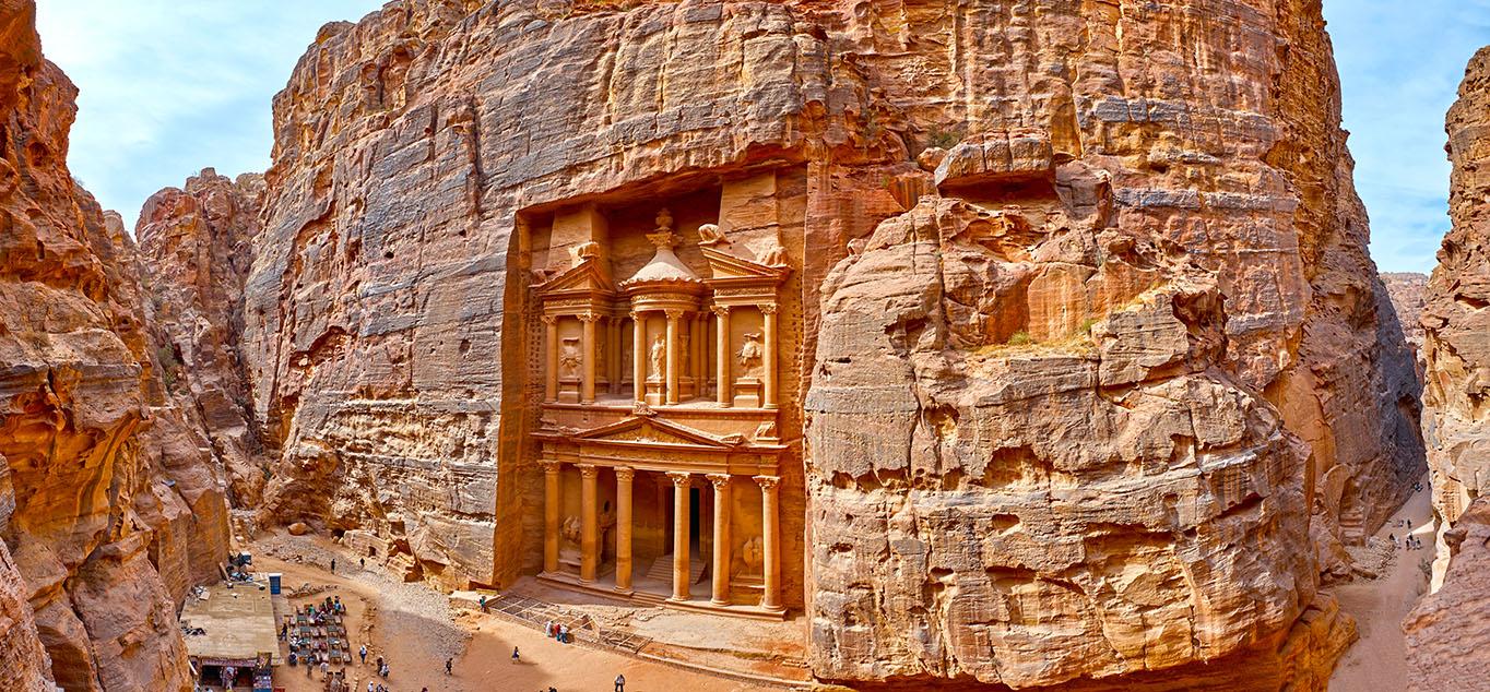 Israel und Jordanien - Die Felsenstadt Petra und das Heilige Land