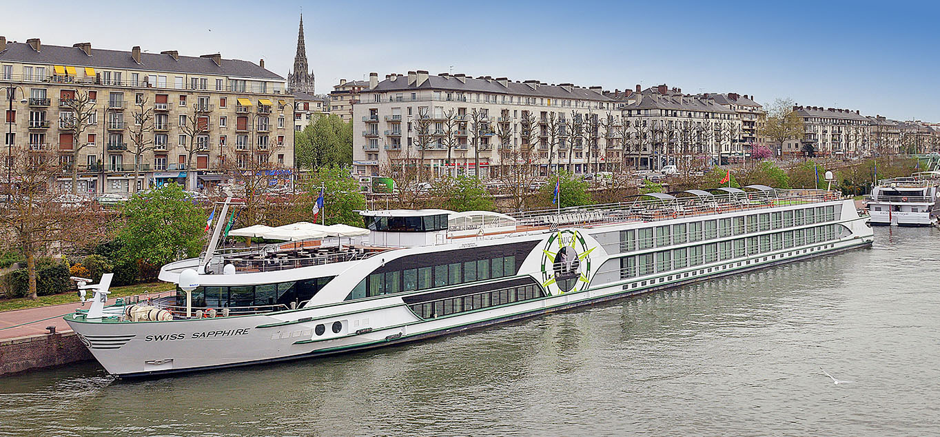 Ostern auf der Seine – Mit der MS Swiss Sapphire von Paris in die Normandie