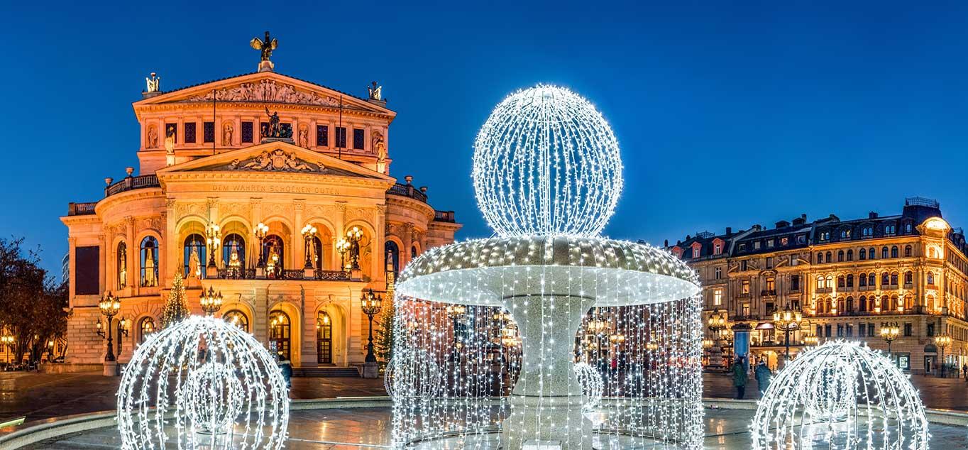 9-tägige  Weihnachts-Flussreise: Mit MS Joy auf Rhein und Main