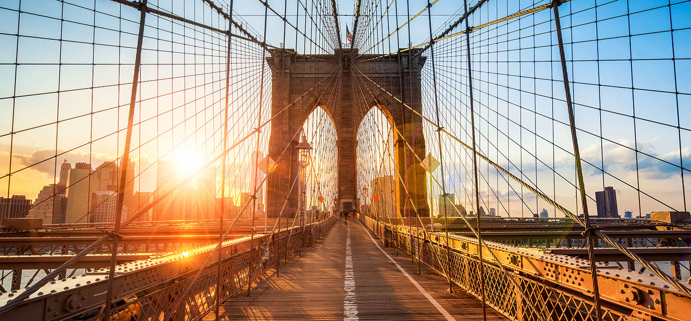 TBrooklyn Bridge in New York