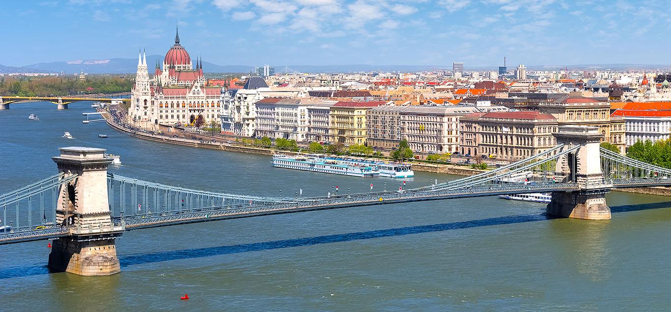 Frühling entlang der Donau - mit MS Savor von Passau bis Budapest