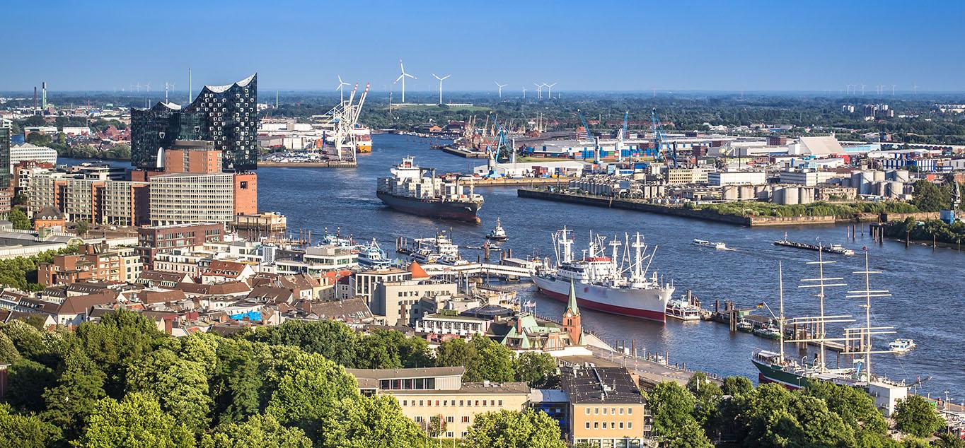Goldener Oktober auf der Elbe - Von Dresden nach Hamburg