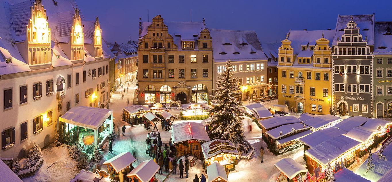 Elbekreuzfahrt - Zu den schönsten Weihnachtsmärken an den Ufern der Elbe