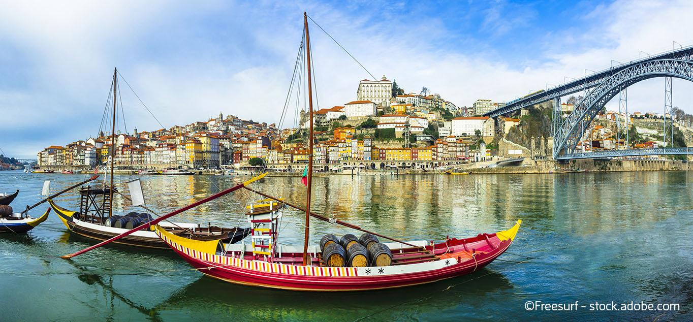 EXKLUSIV: Porto und das Tal des Douro mit MS ANDORINHA