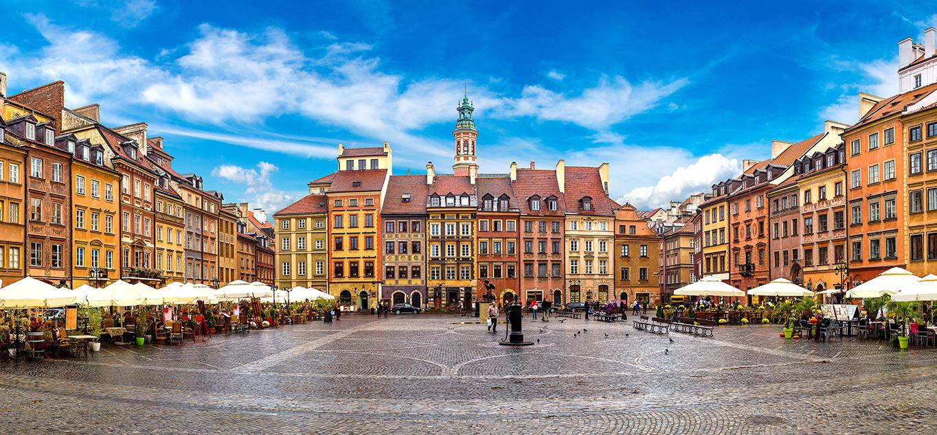 Breslau, Krakau, Warschau und die Hohe Tatra