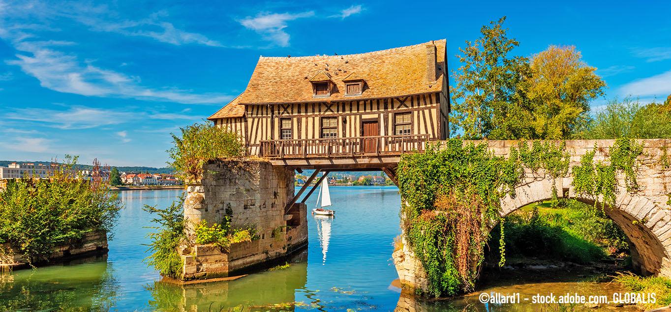 Seinekreuzfahrt: Paris und die Normandie mit MS Jane Austen