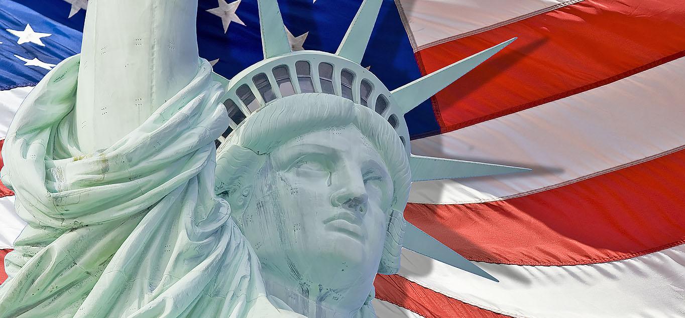 Symbol der Neuen Welt: die Freiheitsstatue