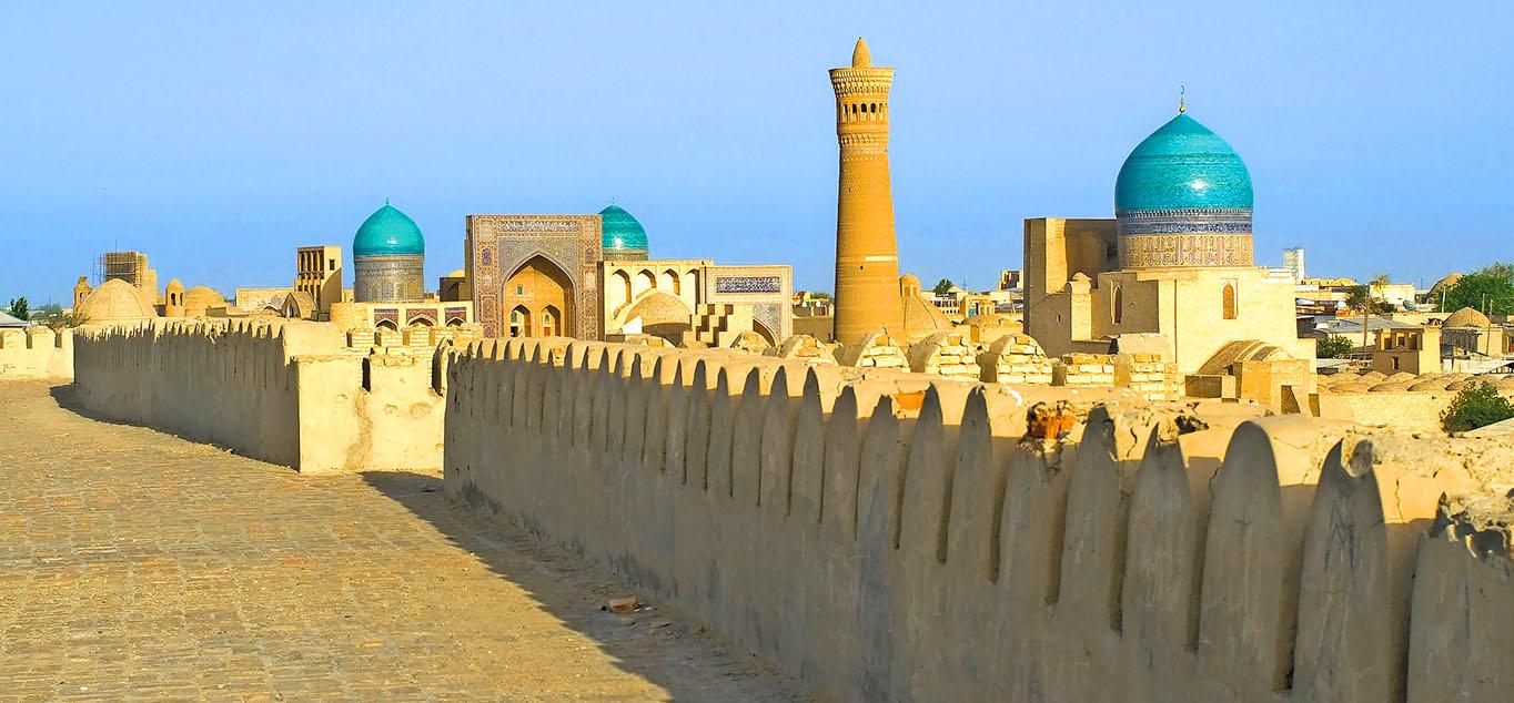 TPanoramablick über Bukhara