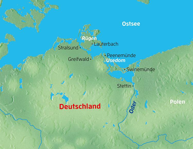 Globalis Reisen Rugen Usedom Und Hansestadte Von Stralsund